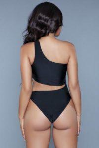 Quinn Badpak – Zwart – Be Wicked Swimwear