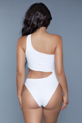 Quinn Badpak – Wit – Be Wicked Swimwear