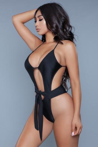Trinity Badpak -Zwart – Be Wicked Swimwear