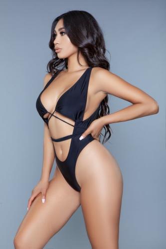 Makayla Badpak – Zwart – Be Wicked Swimwear