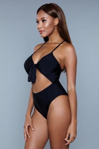 Delaney Badpak – Zwart – Be Wicked Swimwear