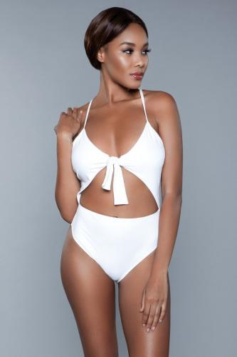 Delaney Badpak – Wit – Be Wicked Swimwear