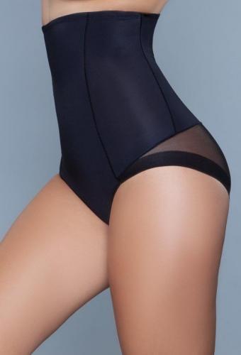 Peachy Soft Corrigerende Slip – Zwart – Be Wicked