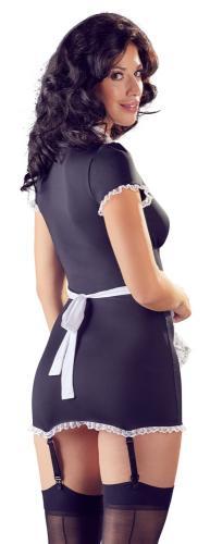 Sexy Dienstmeisje Kostuum Met Jarretels – Cottelli Collection