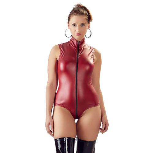 Wetlook Body Met Open Kruis – Cottelli Collection