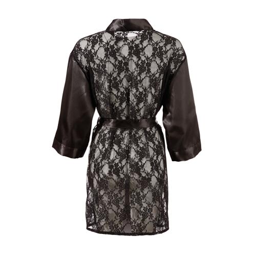 Kimono Met Kanten Achterkant – Cottelli Collection