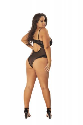 Kanten Body Met Verleidelijke Achterkant – Curvy – OhLaLa Cheri