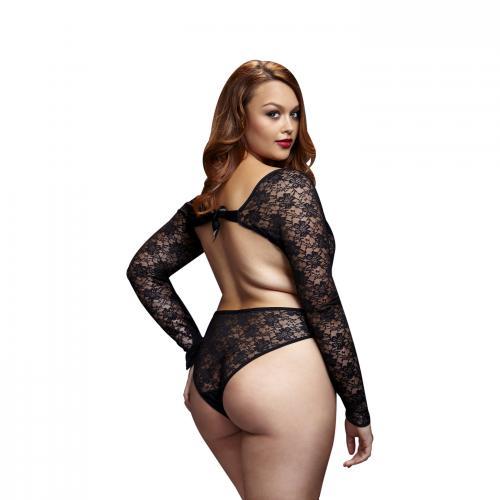 Baci – Kanten Bodysuit Met Open Achterkant – Curvy – Baci Lingerie