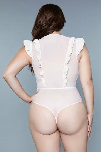 Madeline Stringbody – Offwhite/Gold – Be Wicked