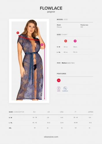 Flowlace Kanten Kimono – Obsessive